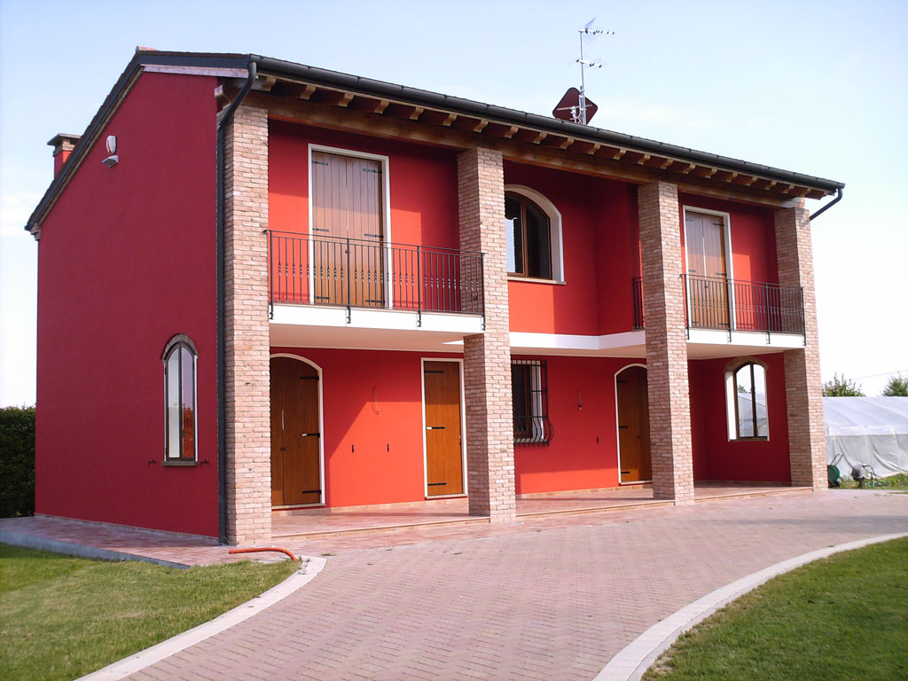 Tinteggiatura pareti esterne a padova longato carlo - Esterno casa colore ...