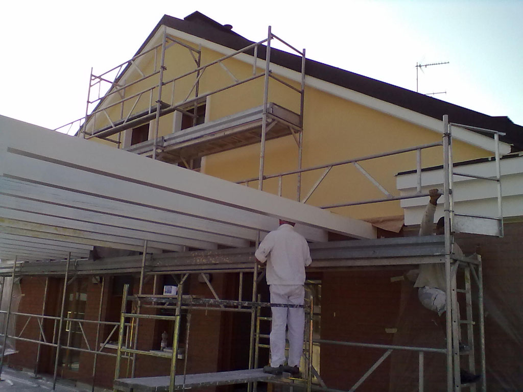 Affordable colore per casa esterno pareti esterne a padova - Esterno casa colore ...